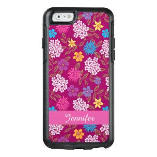 Coque OtterBox iPhone 6/6s Fleurs sauvages Girly de ressort et d'été, nom
