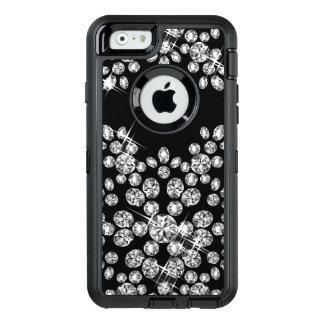 Coque OtterBox iPhone 6/6s Flocon de neige de diamant (agrandi)