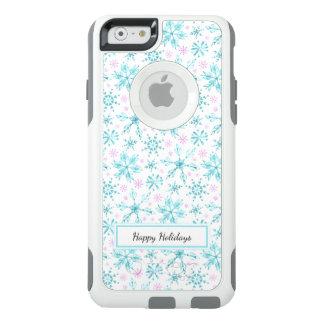 Coque OtterBox iPhone 6/6s Flocons de neige d'hiver