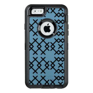 Coque OtterBox iPhone 6/6s Formes géométriques de nomade bleu tribal de