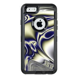 Coque OtterBox iPhone 6/6s Fractale bleue de floraison
