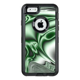 Coque OtterBox iPhone 6/6s Fractale verte de floraison