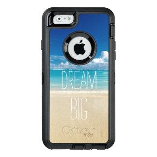 Coque OtterBox iPhone 6/6s Grand thème de motivation rêveur de plage de