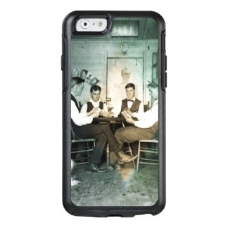 Coque OtterBox iPhone 6/6s Hommes 1890 de jeu de poker jouant la photo de