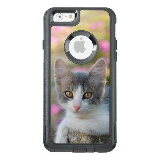 Coque OtterBox iPhone 6/6s Jeunes fleurs mignonnes de rose de chaton de chat