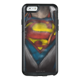 Coque OtterBox iPhone 6/6s Le coffre de Superman | indiquent le croquis