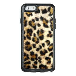 Coque OtterBox iPhone 6/6s Le léopard noir frais repère la caisse de l'iPhone