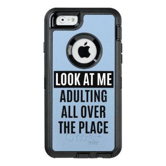 Coque OtterBox iPhone 6/6s Le meme drôle Adulting partout citent