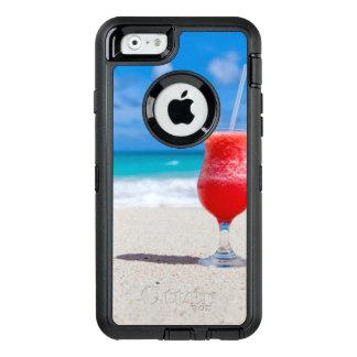 Coque OtterBox iPhone 6/6s L'eau tropicale de turquoise de plage de boissons
