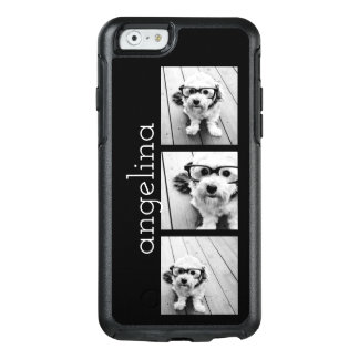 Coque OtterBox iPhone 6/6s Les 3 photos à la mode et le nom - CHOISISSEZ LA