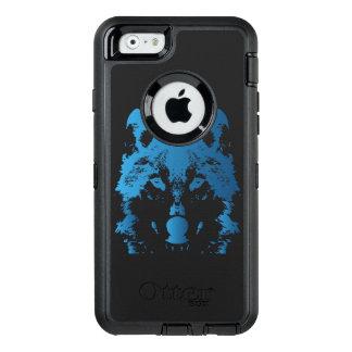 Coque OtterBox iPhone 6/6s Loup de bleu glacier d'illustration