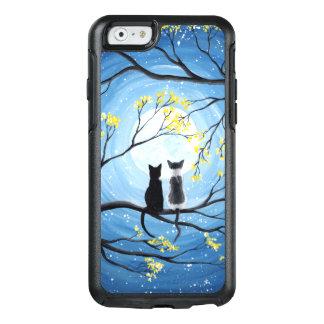 Coque OtterBox iPhone 6/6s Lune lunatique avec des chats