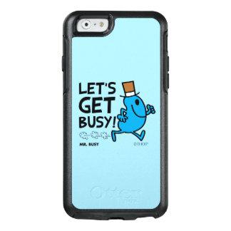 Coque OtterBox iPhone 6/6s M. Busy | nous a laissés obtenir le texte noir