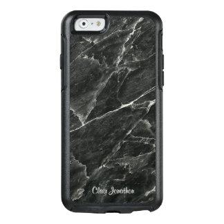 Coque OtterBox iPhone 6/6s Marbre noir personnalisé