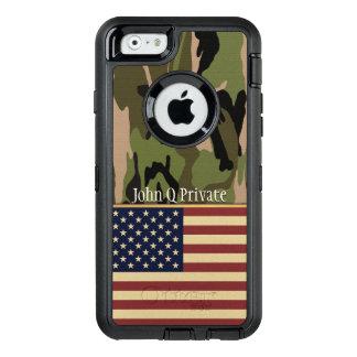 Coque OtterBox iPhone 6/6s Modèle nommé de Camo de drapeau des Etats-Unis