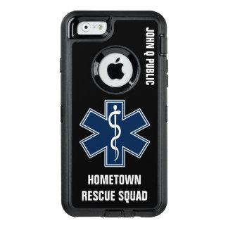 Coque OtterBox iPhone 6/6s Modèle nommé de l'infirmier EMT SME