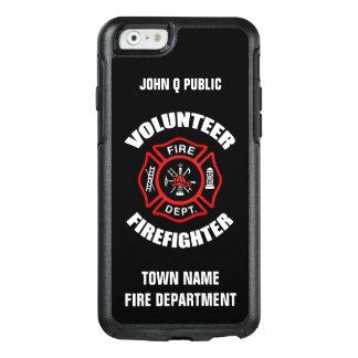 Coque OtterBox iPhone 6/6s Modèle volontaire de nom de sapeur-pompier