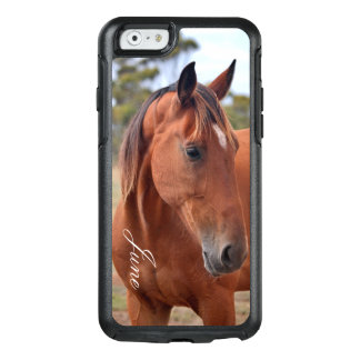 Coque OtterBox iPhone 6/6s Monogramme de cheval