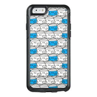 Coque OtterBox iPhone 6/6s Motif bleu de M. Bump |