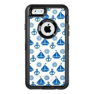 Coque OtterBox iPhone 6/6s Motif de bateau à voile de bande dessinée