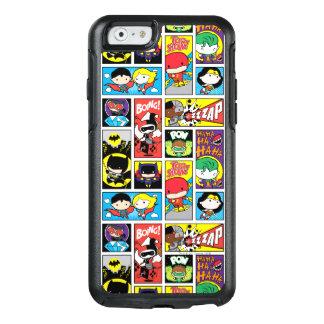 Coque OtterBox iPhone 6/6s Motif de compilation de ligue de justice de Chibi