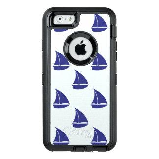 Coque OtterBox iPhone 6/6s Motif de voilier de bleu royal