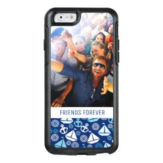 Coque OtterBox iPhone 6/6s Motif   de voiliers de bande dessinée votre photo