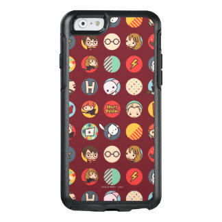 Coque OtterBox iPhone 6/6s Motif d'icônes de bande dessinée de Harry Potter