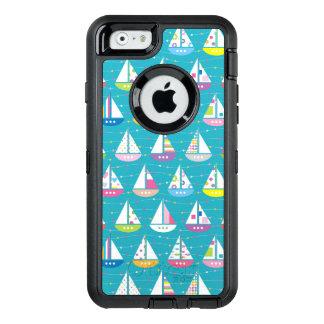 Coque OtterBox iPhone 6/6s Motif en pastel de voilier