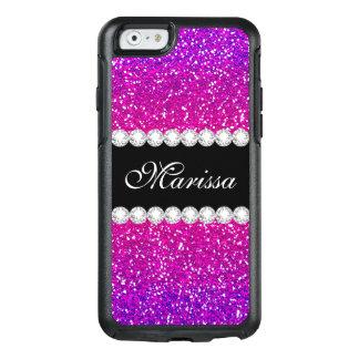 Coque OtterBox iPhone 6/6s Motif Girly frais d'Ombre Bling de scintillement