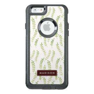 Coque OtterBox iPhone 6/6s Motif vert Girly de feuille