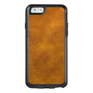 Coque OtterBox iPhone 6/6s Moutarde d'ambre de grain fin de cuir de peau de