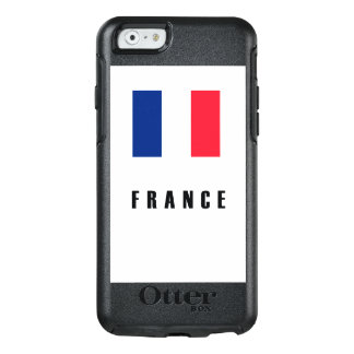 Coque OtterBox iPhone 6/6s Obscurité simple de drapeau de la France