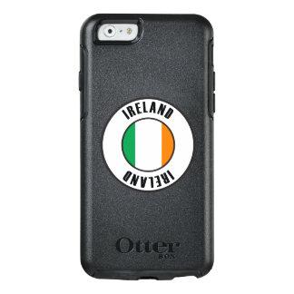 Coque OtterBox iPhone 6/6s Obscurité simple de drapeau de l'Irlande