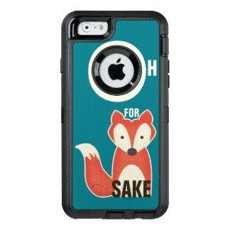 Coque OtterBox iPhone 6/6s Oh pour le bleu de saké de Fox