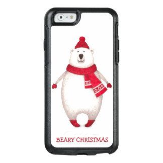 Coque OtterBox iPhone 6/6s Ours blanc de Beary de citation drôle mignonne de