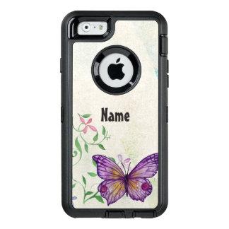 Coque OtterBox iPhone 6/6s Papillon vintage floral