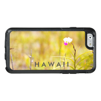 Coque OtterBox iPhone 6/6s Parc national de volcans tropicaux d'orchidée