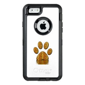Coque OtterBox iPhone 6/6s Patte #2 de tigre