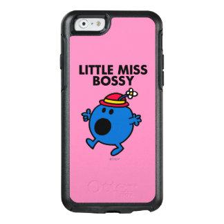 Coque OtterBox iPhone 6/6s Petit lettrage noir de Mlle Bossy |
