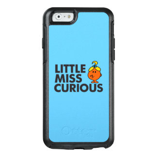 Coque OtterBox iPhone 6/6s Petit lettrage noir de Mlle Curious |