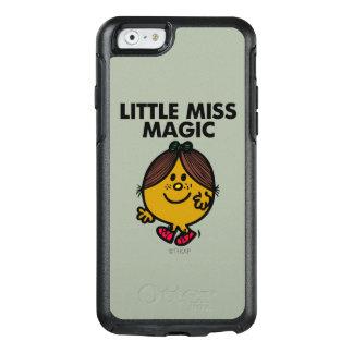 Coque OtterBox iPhone 6/6s Petit lettrage noir de Mlle Magic |