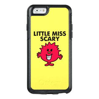 Coque OtterBox iPhone 6/6s Petit lettrage noir de Mlle Scary |