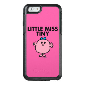 Coque OtterBox iPhone 6/6s Petit lettrage noir de Mlle Tiny |
