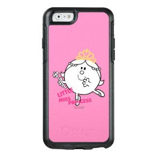 Coque OtterBox iPhone 6/6s Petit lettrage rose de Mlle le princesse |