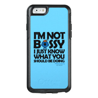 Coque OtterBox iPhone 6/6s Petite Mlle Bossy Just Knows