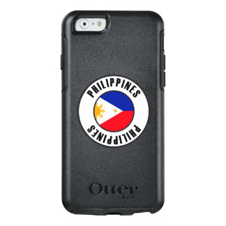 Coque OtterBox iPhone 6/6s Philippines marquent l'obscurité simple