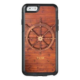 Coque OtterBox iPhone 6/6s Roue en bois nautique de la barre de capitaine de