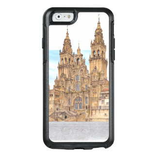 Coque OtterBox iPhone 6/6s Saint-Jacques-de-Compostelle. Façade occidental.
