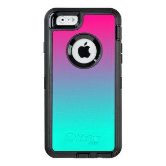 Coque OtterBox iPhone 6/6s Sucrerie de coton assez rose et bleue